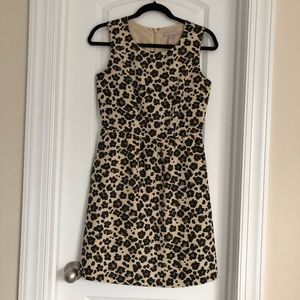 Banana Republic leopard print dress